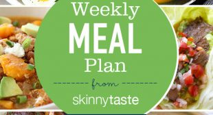 Skinnytaste Meal Plan (December 31-January 6)