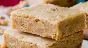 Chewy Brown Butter Blondies