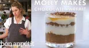 Molly Makes Dark Chocolate Chia Parfait | From the Test Kitchen & Healthyish | Bon Appétit
