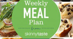 Skinnytaste Meal Plan (January 21- January 27)