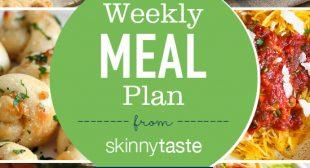 Skinnytaste Meal Plan (January 7-January 13)