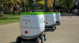 Snack-Wielding Robots From PepsiCo Are Invading the University of the Pacific