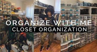 Organize My Closet With Me VLOG || Updated Apartment Tour