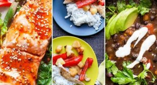 Simply Recipes 2019 Meal Plan: February Week 2