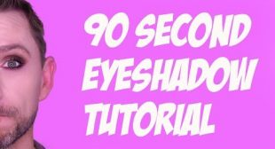 THE 90 SECOND EYESHADOW TUTORIAL