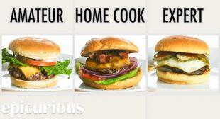 4 Levels of Hamburgers: Amateur to Food Scientist   Epicurious