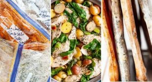 4 Skillet Chicken Freezer Meals for Busy Weeknights