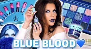 BLUE BLOOD 💙Collection REVIEW | Jeffree Star Cosmetics