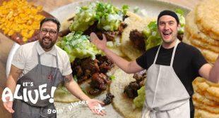 Brad Makes Tortillas   It's Alive: Goin' Places   Bon Appétit