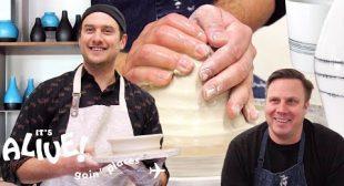 Brad Tries Pottery | It's Alive: Goin' Places | Bon Appétit