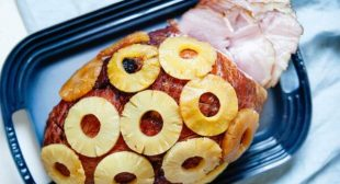 Brown Sugar Baked Ham with Pineapple