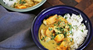 Chicken Curry with Sweet Potato and Lemongrass