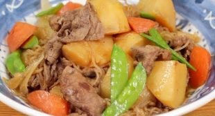 Nikujaga Recipe (Beef and Potatoes Stewed in Savory Soy Sauce Based Dashi Broth)   Cooking with Dog