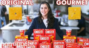 Pastry Chef Attempts to Make Gourmet Cheez-Its   Gourmet Makes   Bon Appétit