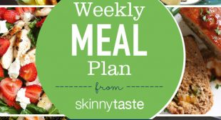 Skinnytaste Meal Plan (April 1-April 7)
