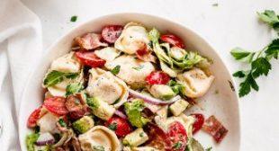 BLT Tortellini Pasta Salad
