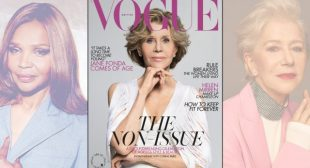 British Vogue Partnered With L'Oreal and McCann to Publish an 80-Page 'Non-Issue' on Aging