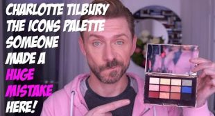 CHARLOTTE TILBURY THE ICONS PALETTE REVIEW