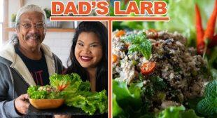 Dad's Mushroom & Tofu Larb