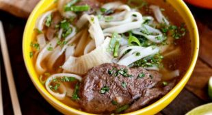 Easy Wok-Kissed Beef Pho