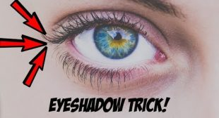 EYESHADOW TRICK FOR HOODED & DIFFICULT EYES