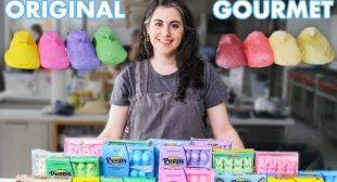 Pastry Chef Attempts to Make Gourmet Peeps | Gourmet Makes | Bon Appétit