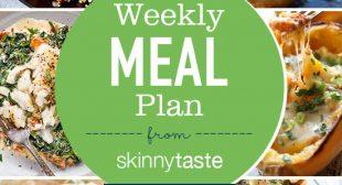 Skinnytaste Meal Plan (April 15-April 21)