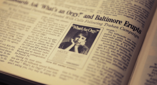 33 Years Ago, Baltimore Freaked Out Over This Orgy Advertisement