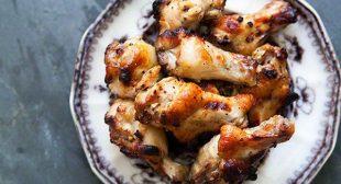 Honey Mustard Chicken Wings