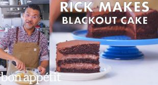 Rick Makes Chocolate Blackout Cake | From the Test Kitchen | Bon Appétit