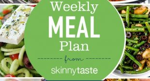 Skinnytaste Meal Plan (May 20-May 26)