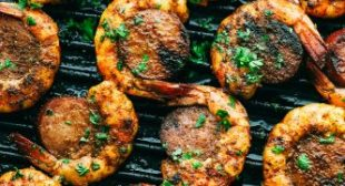 Easy and Amazing Cajun Shrimp and Sausage Skewers
