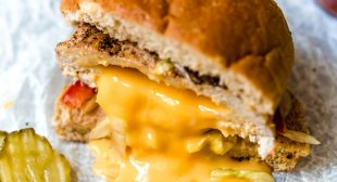 Easy Inside Out Turkey Cheeseburgers