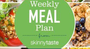 Skinnytaste Meal Plan (June 24-June 30)