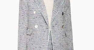 Tweed Blazers Are Officially Back as The Hallmark Outerwear Trend For Summer