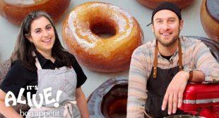 Brad and Claire Make Doughnuts Part 1   It's Alive   Bon Appétit