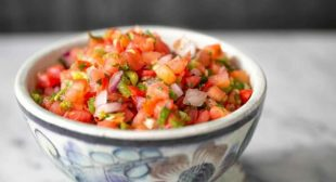 Fresh Tomato Salsa (Pico de Gallo)
