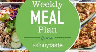Skinnytaste Meal Plan (July 15-July 21)