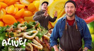 Brad Makes Fermented Citrus Fruits   It's Alive   Bon Appétit