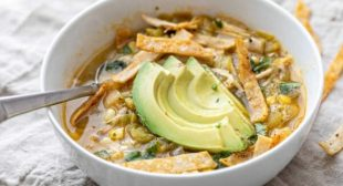 Easy Green Chicken Chili
