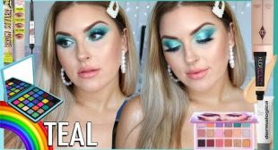 Dreamy Teal Makeup! 🌈 Rainbow Series 🗯️ CCGRWM