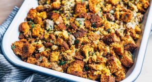 Sausage, Sage, and Cornbread Stuffing
