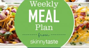 Skinnytaste Meal Plan (November 11-November 17)