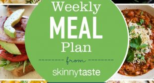 Skinnytaste Meal Plan (November 18-November 24)