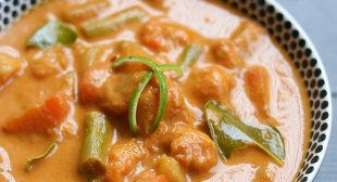 Vegan Thai red curry recipe, Red curry without shrimp paste