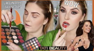 I tried TATI BEAUTY and other new makeup…. 💣 FIRST IMPRESSIONS