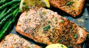 Brown Butter Lemon Salmon