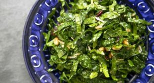 Kale Salad with Balsamic Dressing