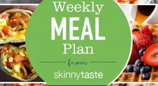 Skinnytaste Meal Plan (January 13-January 19)