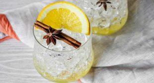 Winter Spiced Orange Mocktail